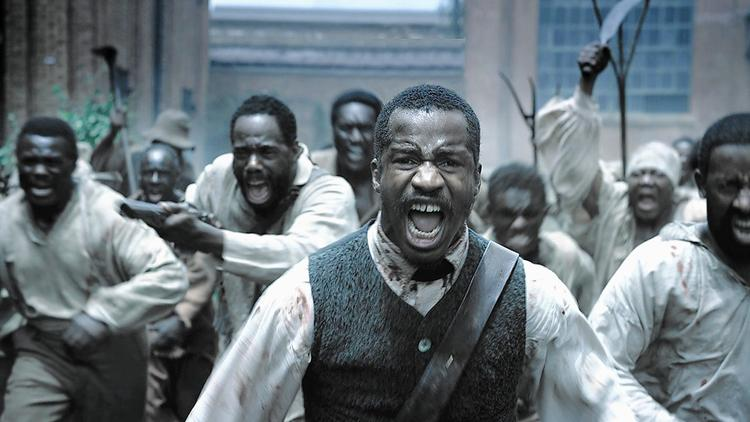 "Nate Parker, who also directed and wrote the screenplay, stars as rebel slave Nat Turner in ""The Birth of a Nation."" Parker calls it ""the black 'Braveheart.' "" (Fox Searchlight Pictures)"